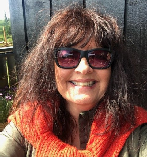 Elsker Valdres: Britt Ellen tilbringer nesten hver helg på hytta i Valdres og alle ferier.