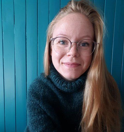 Reagerer: Bergljot Opsal Hofstad er tillitsvalgt for 2016-kullet på samlingsbasert grunnskolelærerutdanning ved Nord universitet. Hun reagerer på at Nord  ikke tilbyr digital forelesning.