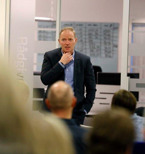 GOD EFFEKT: Frank Vikingstad i Sysco har ledige seter i bedriften, og tror på varige endringer som følge av covid-19.