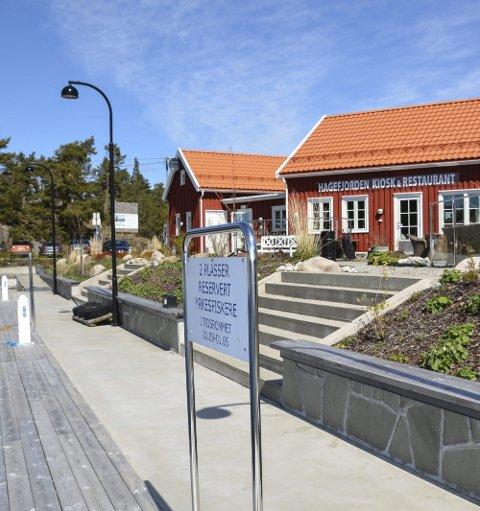 Restauranten på Hagefjordbrygga: Har fått nye drivere.