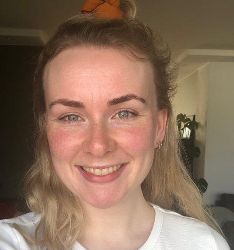 Nyansatt: Martine Olsen Tømmerberg (26) var på leiting etter noe nytt og spennende. Hun følte at hun savnet noe i sin tidligere jobb, men nå føler hun stor grad av mestring av å være til nytte for andre.