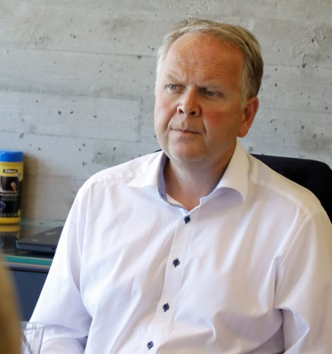 TYSVÆR: Ordfører Sigmund Lier finner seg ikke i det han mener er forskjellsbehandling mellom Tysvær og de andre kommunene i Rogaland fylkeskommune.