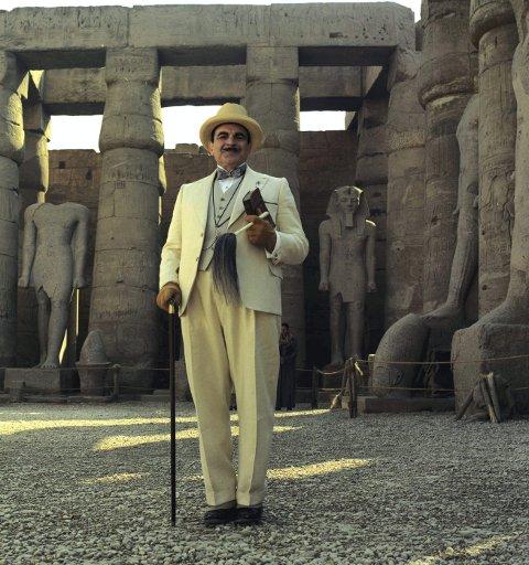 Allvitende: Agatha Christies karakter Hercule Poirot vet gjerne alt, og ligner lite på dagens norske krimhelter. FOTO: www.album-online.com