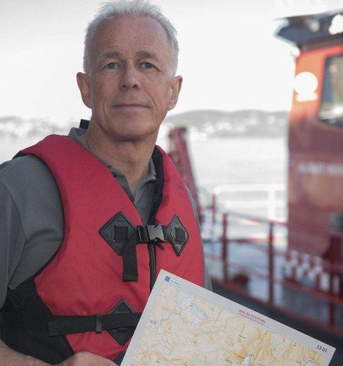 GRUNNSTØTINGER OG SAMMENSTØT: – Vi tror at sommeren i år vil toppe fjorårets båtsommer i Vestfold og at sikkerhet til sjøs vil være viktigere enn noen gang, sier Arne Voll, kommunikasjonssjef i Gjensidige.pressefoto