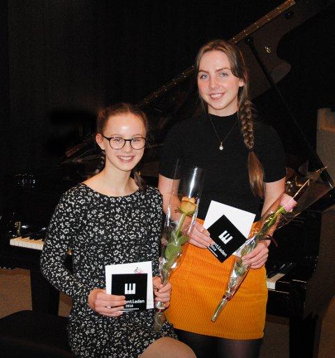 HVER SIN KLASSE: Kappingene Celina Berg og Desirèe Bergt tok hjem henholdsvis 1. og 3.pris i ungdom- og videregåendeklassen.
