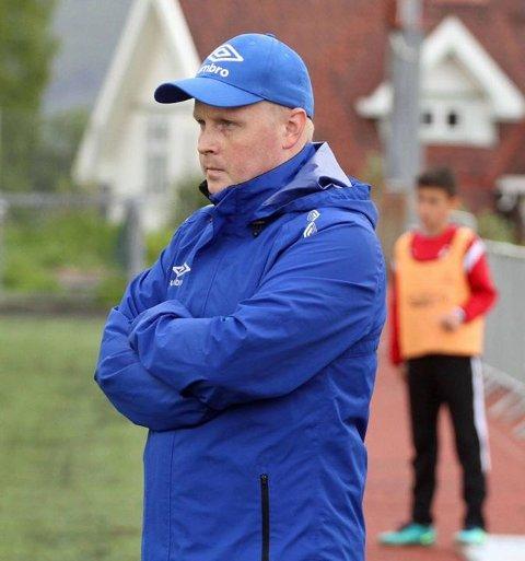 FORNØYD: Lørenskog-trener Daniel Westvang var godt fornøyd med 4-1-seieren mot Kråkerøy lørdag.
