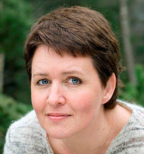 Forfatter Merete Morken Anders gjester Nittedal bibliotek på fredag (Foto: Barbora Kysilkova).