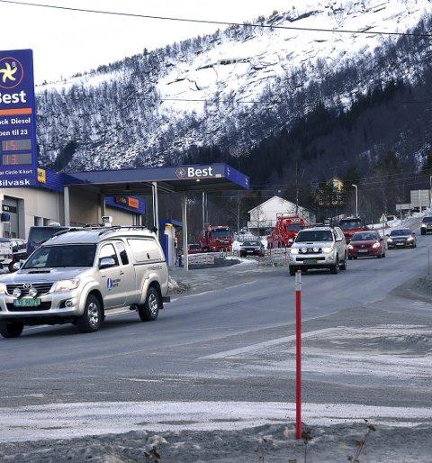 Slutt: Etter mange tiår med venting både  på planer og tunnell er det nå slutt på tålmodigheten blant næringsaktørene på Ulvsvåg i Hamarøy.