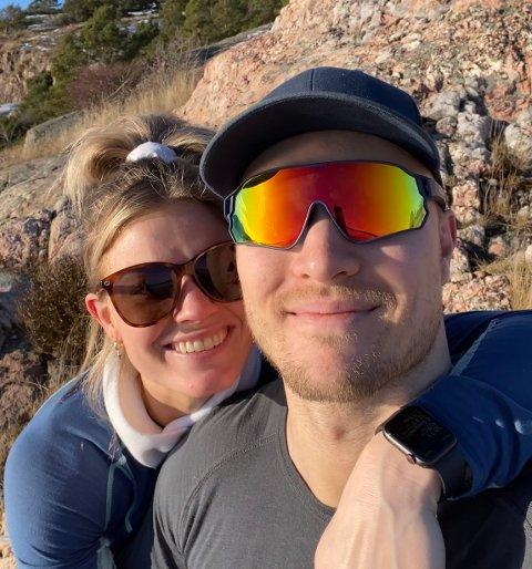 GLADNYHET: Jeanett Kristiansen (28) og kjæresten Andreas Tamburplass (31) venter barn sammen.