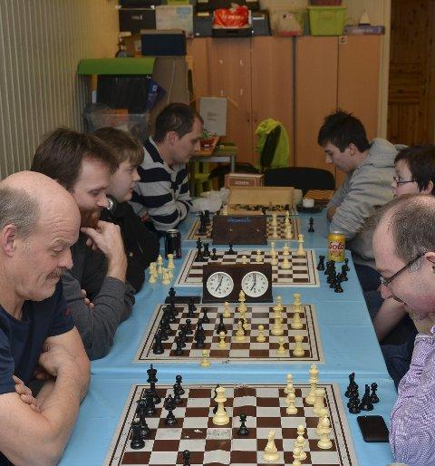 SJAKK: En av de 13 greinene det skal konkurreres i er sjakk. Det arrangeres allerede sjakk-kvelder i Odda gjennom året. Arkivfoto: Ernst Olsen