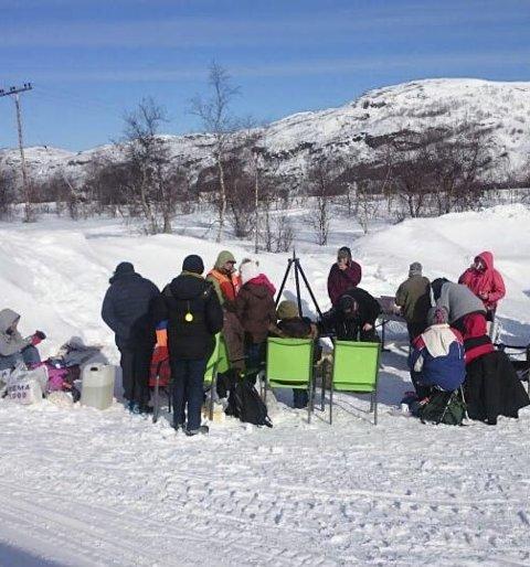 Grilldag: Røde Kors i Sør-Varanger inviterte igjen til årlig grilldag i Sandnesdalen lørdag.