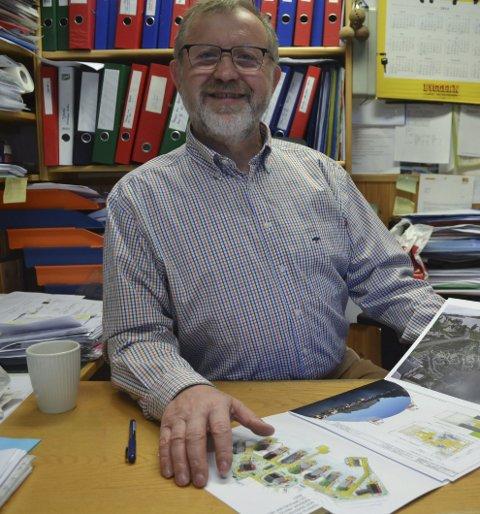 Fornøyd: Jozef Mierzwa i Deco Norge AS i Moskenes økte inntektene fra byggeaktiviteten med 13 millioner kroner i fjor. Arkivfoto