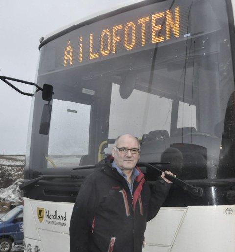 Leder for Boreal i Lofoten, Odd Einar Pedersen.