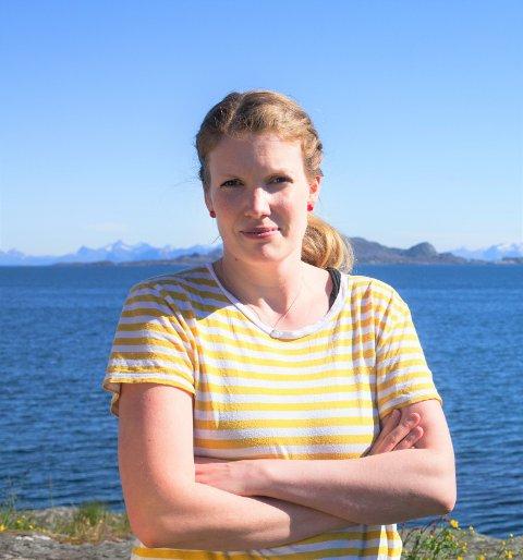 Camilla Rostad, ordførerkandidat for Vågan SV