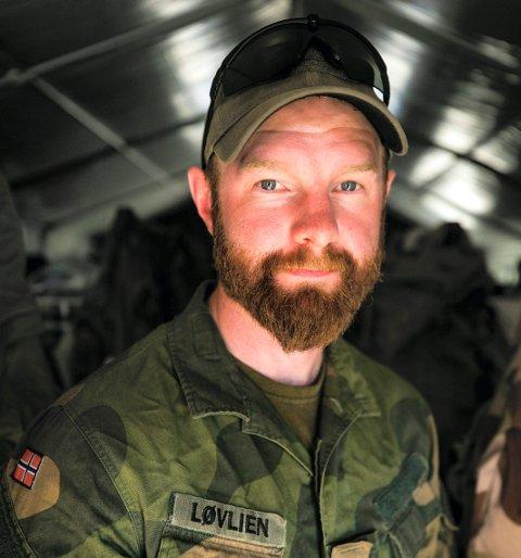 VIKTIG: – Dette oppdraget føltes veldig meningsfylt, sier Morten Neby Løvlien.
