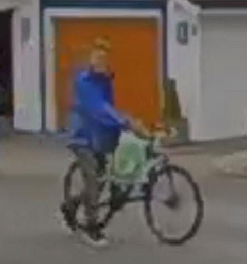 Sykkeltyven stjal den dyre sykkelen i fra en garasje på Lura.