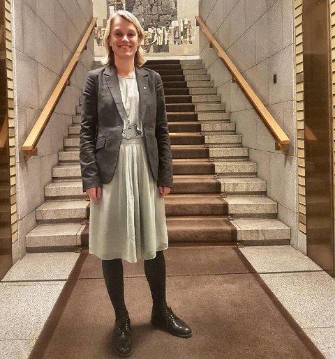 Fra Tangenten til tinget: Nina Sandberg havnet i utdannings- og forskningskomiteen.