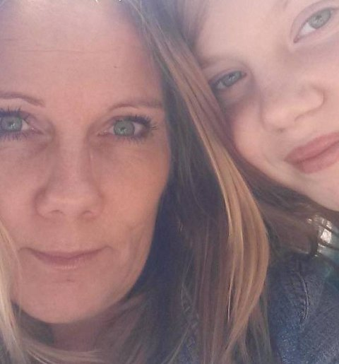 FIN JENTE: – Madelen Kamma har blitt ei veldig fin jente, sier mamma Gunn Irene Kristiansen.