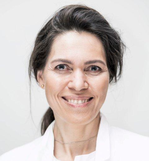 HELT NYTT:  – Vi ser fram til å flytte inn i nytt bygg, det blir veldig spennende, sier psykiater Marit Myklebust i avdeling for spesialisert behandling i Helse Fonna.