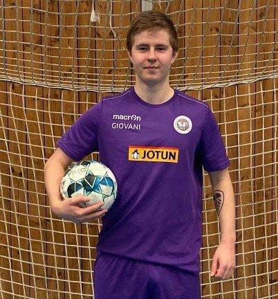SCORET TRE: Jesper Remmem scoret sine første mål i Sandefjord-trøya da han scoret tre ganger mot KFUM Oslo i helgen.