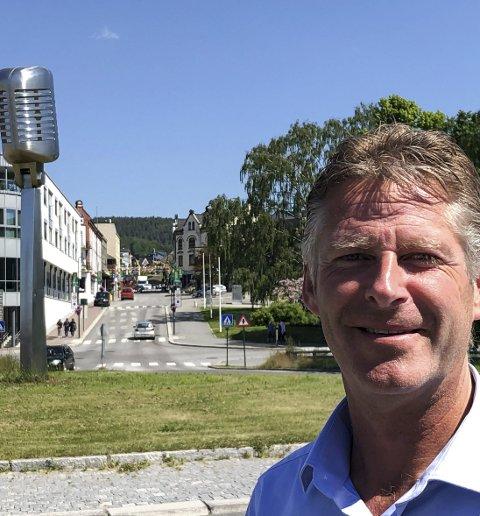 UTFORDRING: NUAS-direktør John Terje Veseth har positive visjoner for arbeidsmarkedet på Notodden i framtida, men mener at den lave befolkningsveksten er en utfordring (Arkivfoto).