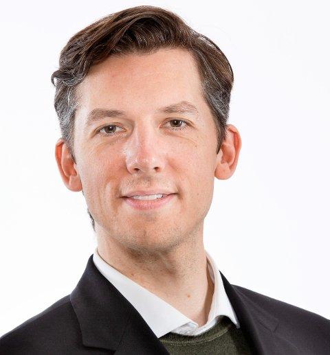 Kristoffer Robin Haug (MDG), Vikens fylkesråd for kollektivtrafikk. Foto: Tom-Egil Jensen