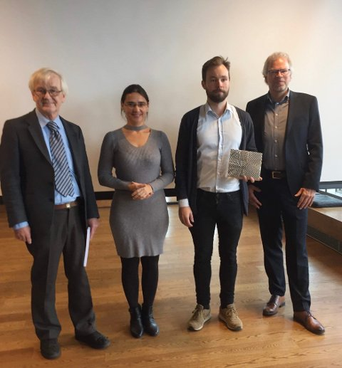 DOKTORGRAD: Bjørnar Steinnes Luteberget ble hedret etter fullført doktorgrad