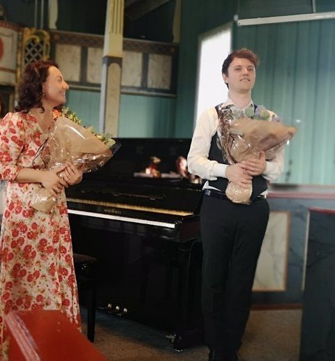 Mariam Kharatyan og Martin Bråten.