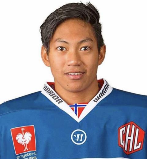 Signert: Tan Hellerød (20) er back og har signert for én sesong i Arctic Eagles-drakten.