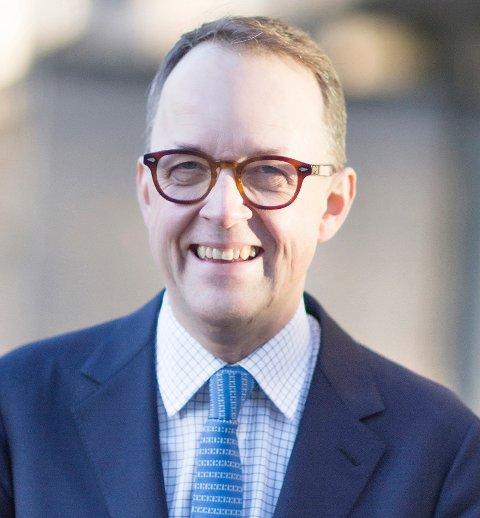 Oluf Ulseth, adm. direktør i Energi Norge