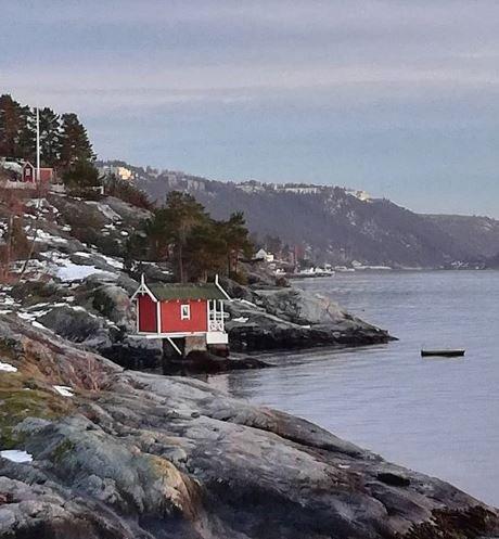 Knut Utler har delt dette hyttebildet på Instagram med #amtaland. Del dine bilder du også.