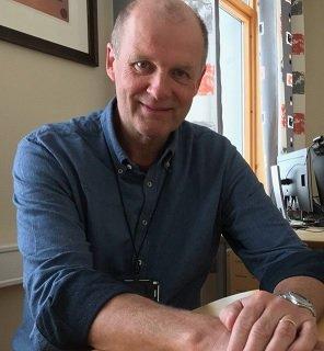 Avtroppende kommunedirektør i Nordkapp, Einar Hauge.