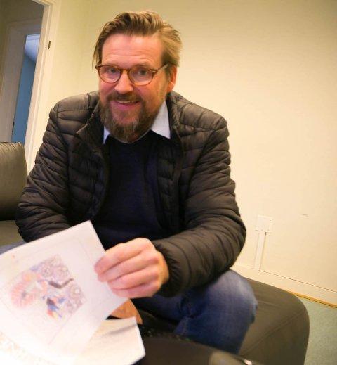 FORNØYD: Prosjektutvikler Ronny Røtvold hos Consto Nord AS er fornøyd med forliket med Sør-Varanger kommune.