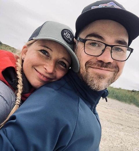 KJÆRLIGHETSHISTORIE: Tina fra Tyskland og Christian fra Norge møttes på Lofoten triatlon i 2019.