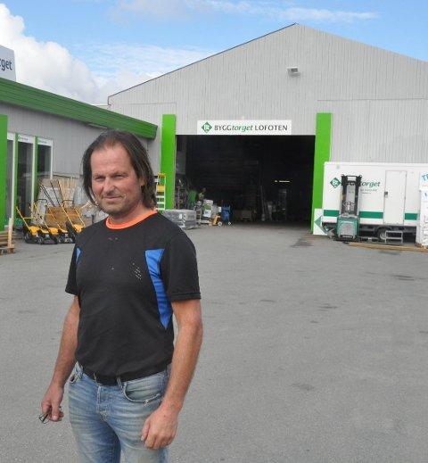 ENTREPRENØR: Jan Hugo Kristoffersen selger seg ut av Byggtorget Lofoten AS