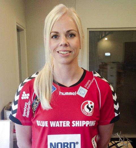 BLE OVERTALT: Team Esbjerg ville gjerne ha med Ida Bjørndalen Karlsson og hun lot seg overtale til å ta ett år til.                ARKIVFOTO