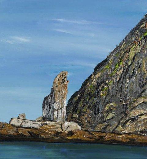 Hjelmsøystauren: Paulsens bilder har spektakulær natur fra Vest-Finnmark.