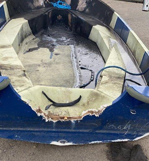 DYRT: Skader på fritidsbåten kan fort bli dyrt. I Skien har Gjensidige utbetalt 825.000 kroner etter båtskader så langt i 2021.
