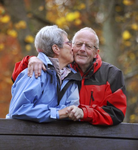 Hvordan finner man kjærligheten i godt voksen alder? Det er temaet i helgas samlivsspalte. Illustrasjonsfoto: Colourbox