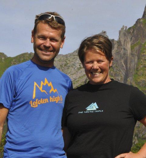 Samarbeid: Stein Alsos og Maria T. Karlsen søker speakerspirer.