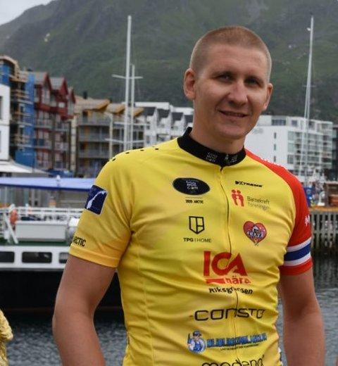 OPPGITT. Lars Andreas Dahl er oppgitt over oppførselen til enkelte bilister.