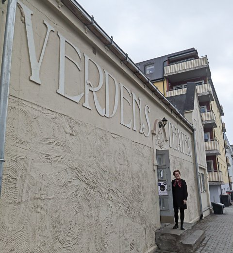 BETATT: Rebakka Liabø synes Verdensteateret er en liten perle og minner henne om Berlin.