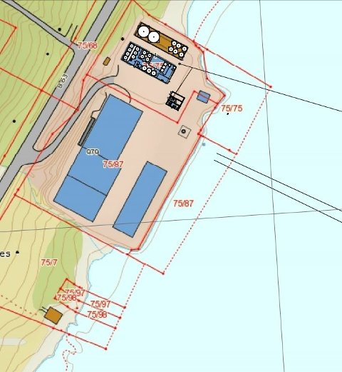 Slik planlegger Akvaplan-Niva å bygge opp det landbaserte anlegget.