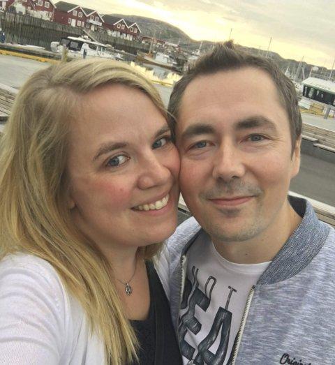 3 VIKTIG STØTTE: For Jeanette er samboeren Johan Ingvaldsen (36) en viktig støttespiller. Her fra en Bodø-tur sommeren 2016.