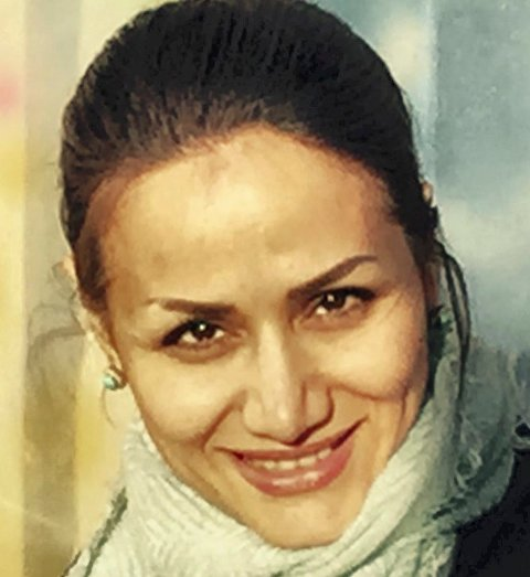 Artikkelforfatter Fereshteh Halimi.