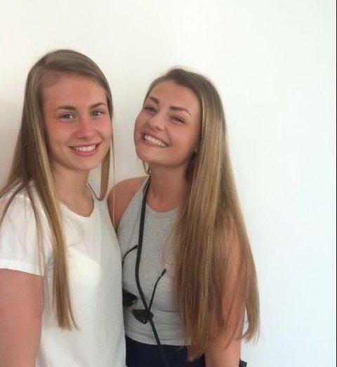 Kjerstin Boge Solås (t.v.) og søstera Andrea har alltid følgt handballandslaget saman på TV. I år vert det ikkje slik. – Eg er stolt over ho, seier Andrea om at Kjerstin er med i EM-troppen.