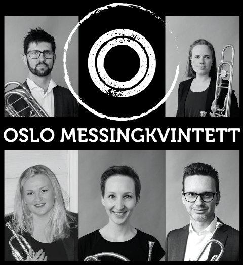 I SØLVSALEN: Oslo Messingkvintett holder konsert lørdag.