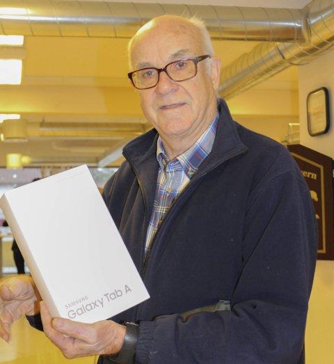 Nytt nettbrett: Jan Storeheier vant Rakkestad Avis sin konkurranse: