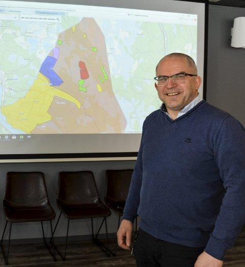 Kart- og byggesakssjef Atle Ruud.Arkiv