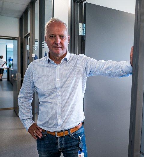 TV-KAMP: Espen Engebretsen håper på å finne en løsning for at sa.tv skal få sende søndagens treningskamp mot Stabæk.